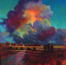 evening cloudburst donna young i love the colours in this cloud