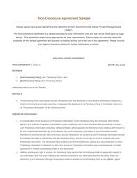 non disclosure agreement free download edit fill pdf template
