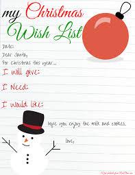 the christmas wish list my christmas wish list printable redplum