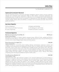 Resume Templates For Project Managers Best Resume Formats 47 Free Samples Examples Format Free