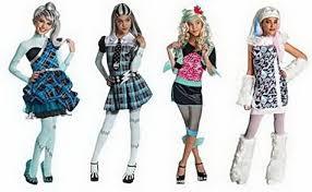 Monster Halloween Costumes Girls Monster Deluxe Frankie Stein Costume