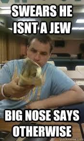 Big Nose Meme - jewish big nose google search stereotyping jewish people as