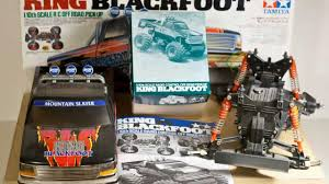 tamiya blackfoot tamiya king blackfoot unboxing youtube