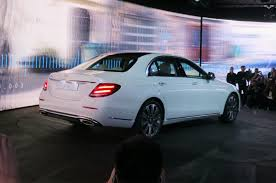 luxury mercedes sedan 2017 mercedes benz e class first look motor trend