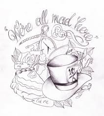 17 alice in wonderland teacup tattoos