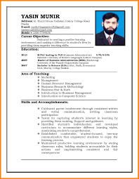 regular resume format new resume format resume format and resume maker new resume format latest resume format sample the standard resume format for a with regard to