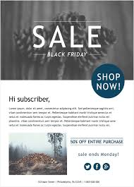 black friday email template email campaign ideas aweber email marketing