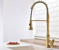 brass kitchen faucets rozinsanitary gold brass kitchen basin sink faucet pull out