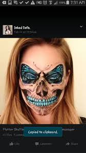 Butterfly Halloween Makeup by The 38 Best Images About Special Fx Makeup On Pinterest