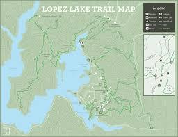 Pismo Beach Map Lopez Lake Trail Map Slo County Parks