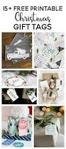 15 free printable christmas gift tags