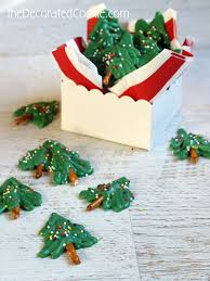 candy christmas tree these mini chocolate christmas trees are a treat