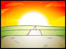 Meme Background - the sunset in the road blank background meme by byrapp on deviantart