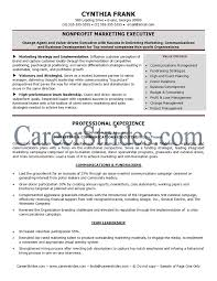 non profit resume samples resume samples and resume help
