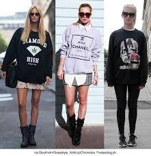 fashion tips how to style sweatshirts and hoodies 2018