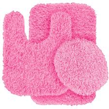 pink bathroom rug sets home design ideas