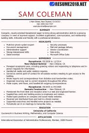 general resume template resume template guide for 2018 updates resume 2018