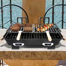 Patio Classic Charcoal Grill by Portable Charcoal Grills Tabletop Outdoor Charcoal Grills Bbq Guys