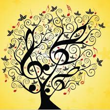 musical tree beautiful pens