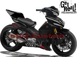 koleksi modifikasi motor jupiter mx 2014 hitam terlengkap dunia modifikasi motor paling keren 101011 jupi z moto gp