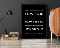 New Orleans Art Print New Orleans Decor NOLA Gift