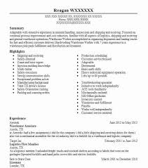 Sample Driver Resume by Warehouse Resume Examples Inventory Associate And Driver Resume