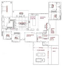 One Story Wrap Around Porch House Plans 5 Room House Plan Pdf Bedroom Plans One Story Double Storey In