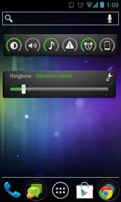android volume slider widget android homescreen widget with brightness volume