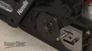 homelite chainsaw sprocket replacement 309410001 youtube