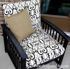 re cover a patio cushion outdoor cushions shower curtains and