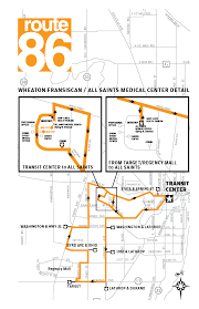 Marta Route Map by Route 86 City Of Racine