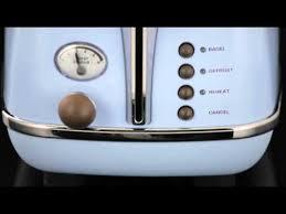 Delonghi Icona Toaster Green Delonghi Icona Vintage Reeks Hedendaagse Nostalgie Youtube