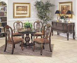 glass dining room table set oval back dining chairs and glass top