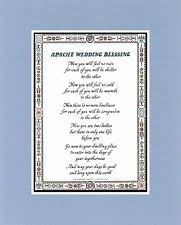 wedding blessing apache wedding blessing ebay