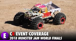 rc monster jam trucks event coverage rc monster jam world finals 2018 sam boyd stadium
