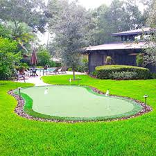 Putting Green In Backyard by Backyard Putting Greens Synthetic Grass Home Putting Green