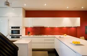 Stained Glass Backsplash by Clear Glass Backsplash Kitchen Midcentury With Backsplash Glass