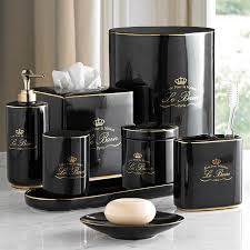 fancy bathroom sets black and gold lifestyle elegant home d cor