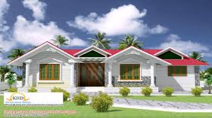 Home Design Front Elevation by Front Elevation Of House Kerala Style Youtube