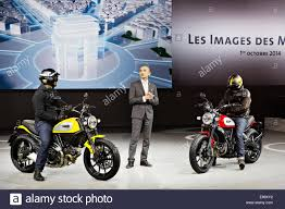 volkswagen group ducati u0027s ceo claudio domenicali presented motorcycle ducati