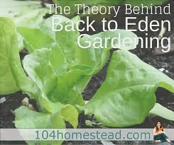 the theory behind back to eden gardening