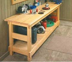 Plans For Making A Wooden Workbench by Diy Wooden Workbench Pdf Carport Plans Ideas Easy U0026 Diy Wood