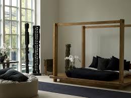 zen bathroom ideas the erban zen bathroom interior with wooden canopy bed design