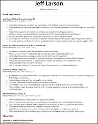 Example Medical Resume Example Medical Assistant Resume Jospar