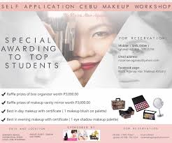 Makeup Artistry Certification Program Cebu Makeup Workshop U2013 Rizza Mae Aganap U2013 Professional Makeup