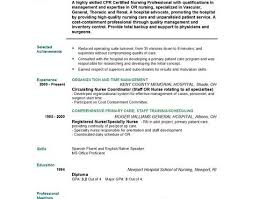 Comprehensive Resume Sample For Nurses by Resume Examples New Grad Free Rn Resume Template Nursing