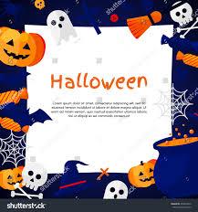 halloween background vector illustration flat halloween stock