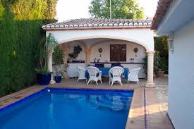 house with separate guest house typical spanish villa equipped with every comfort in moraira with