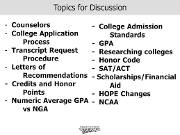 information for seniors and their parents ppt download