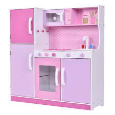 Little Tikes Wooden Kitchen by Toy Kitchen Ebay